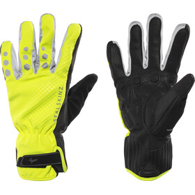 Sealskinz All Weather Cycle XP - Guantes largos Hombre - amarillo/negro